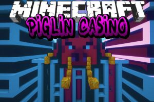 Piglin Casino Map for Minecraft