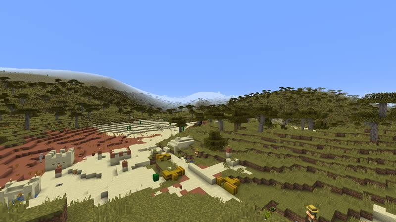 Simplex Terrain Generation Mod Screenshot