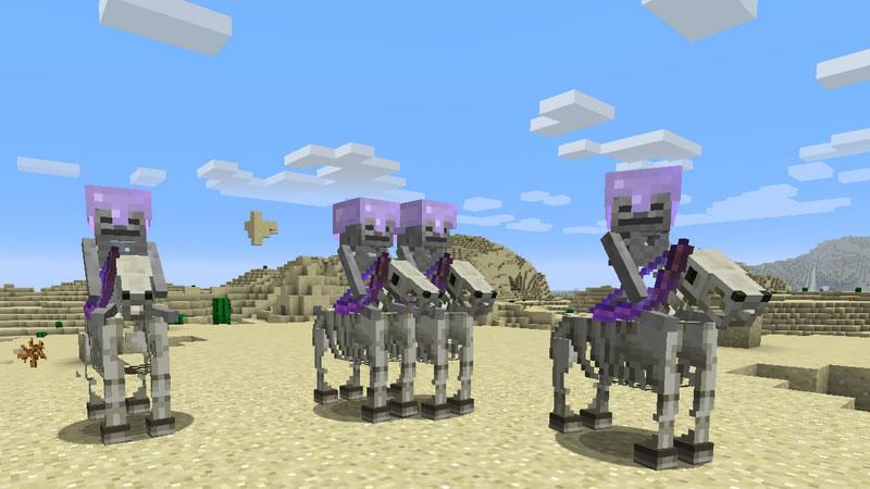 Skeleton Horse Spawn Mod Screenshot