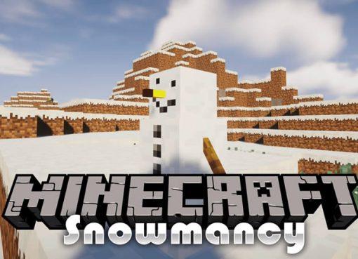Snowmancy Mod for Minecraft