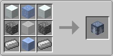 Snowmancy Mod Crafting Recipe 2