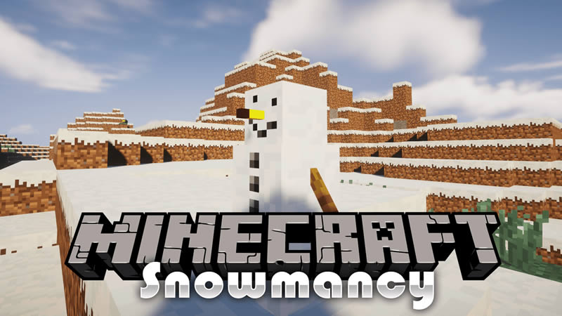 Snowmancy Mod for Minecraft