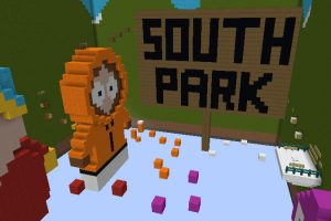 South Parkour Map for Minecraft