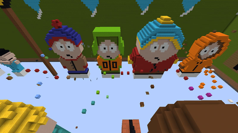 South Parkour Map Screenshot