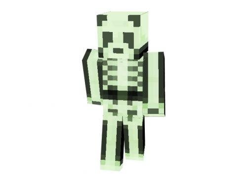 Spooky Panda Skin for Minecraft