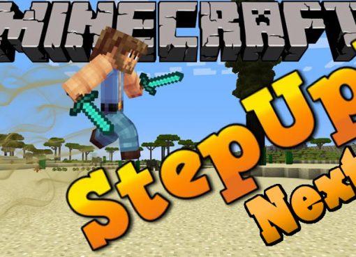 StepUpNext Mod for Minecraft