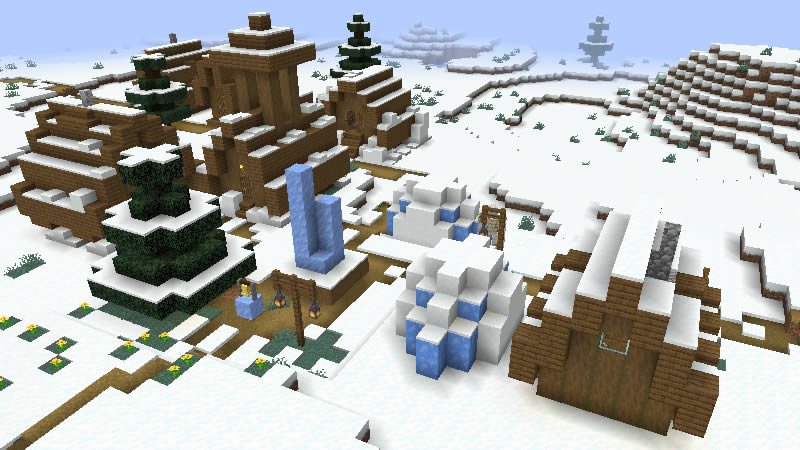 4 Winter Villages for a Christmas Mood Seed Screenshot 2