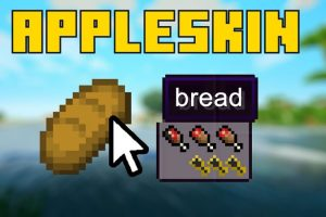 AppleSkin Mod for Minecraft
