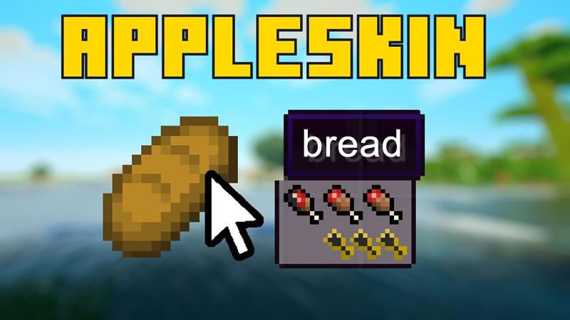 AppleSkin Mod for Minecraft