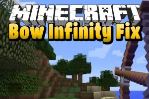 Bow Infinity Fix Mod for Minecraft