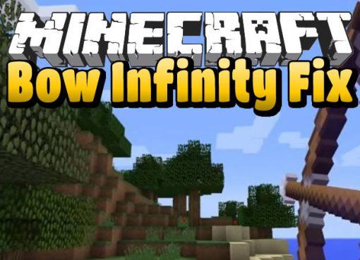 Bow Infinity Fix Mod for Minecraft