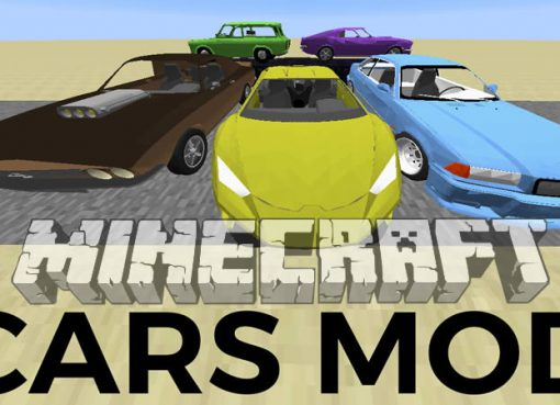 Cars and Engines Mod for Minecraft