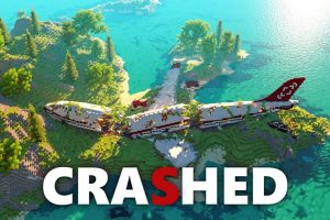 Crashed Map for Minecraft
