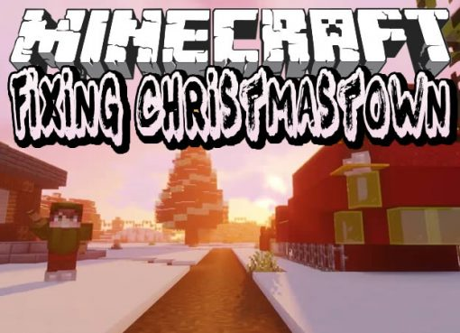 Fixing Christmastown Map for Minecraft