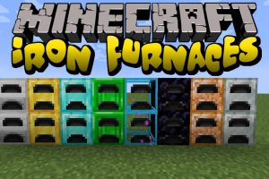 Iron Furnaces Mod for Minecraft