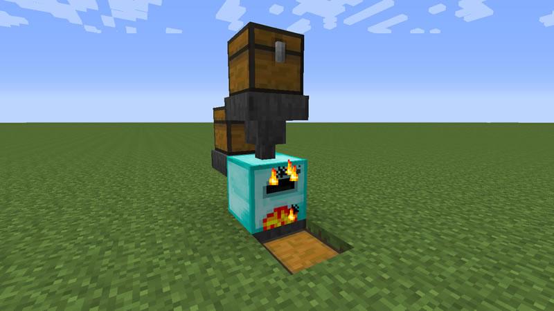 Iron Furnaces Mod Screenshot