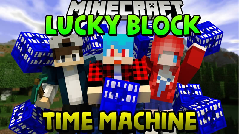 Lucky Block Time Machine Mod for Minecraft