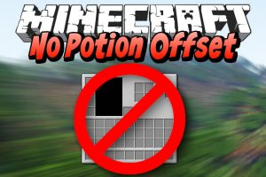 No Potion Offset Mod for Minecraft