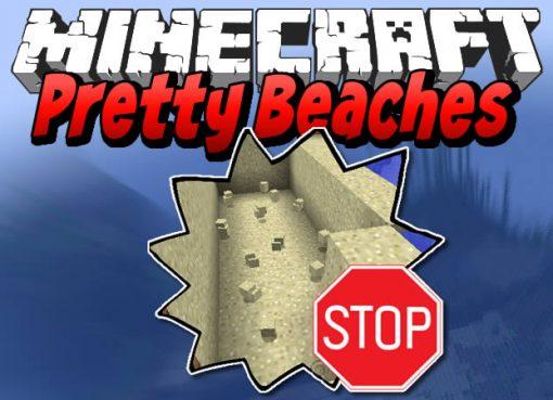 Pretty Beaches Mod for Minecraft