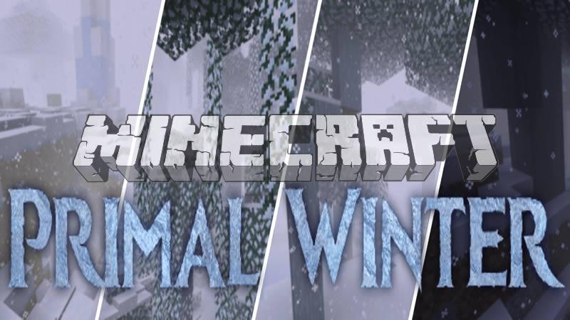 Primal Winter Mod for Minecraft