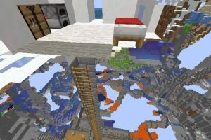Stronghold Inside Igloo Basement Seed for Minecraft