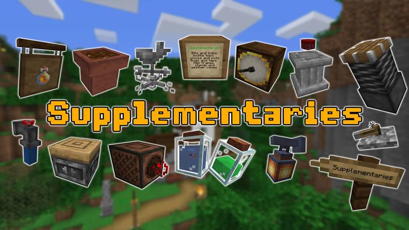 Supplementaries Mod for Minecraft