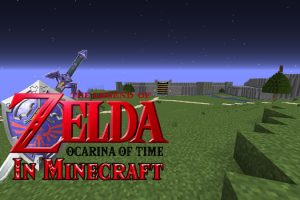The Legend of Zelda Ocarina of Time Map for Minecraft