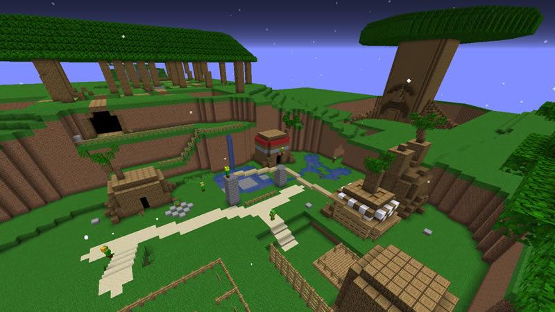 The Legend of Zelda Ocarina of Time Map Screenshot