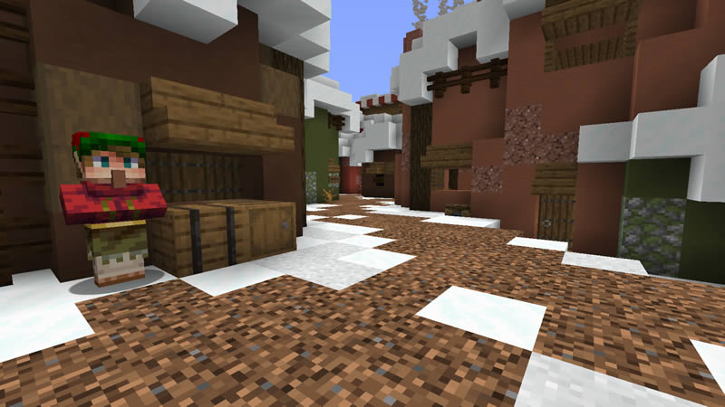 Trouble in Christmas Town Map Screenshot 3