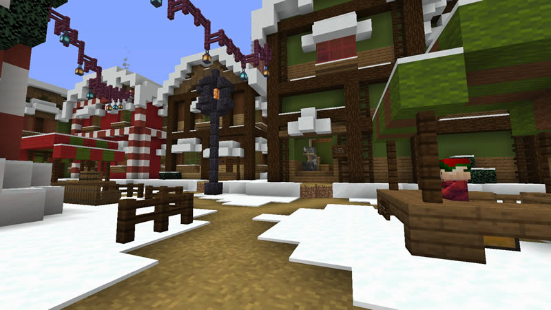 Trouble in Christmas Town Map Screenshot