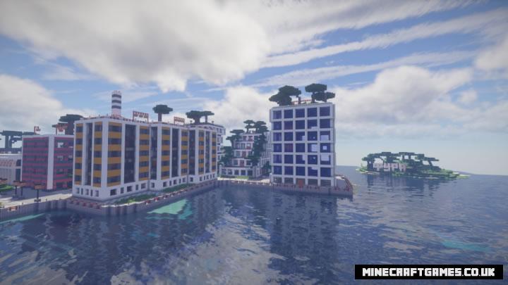 2D City Map Screenshot 2