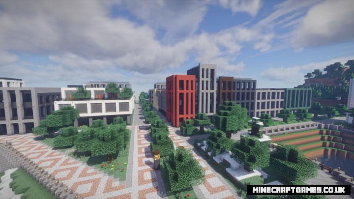 2D City Map Screenshot 4
