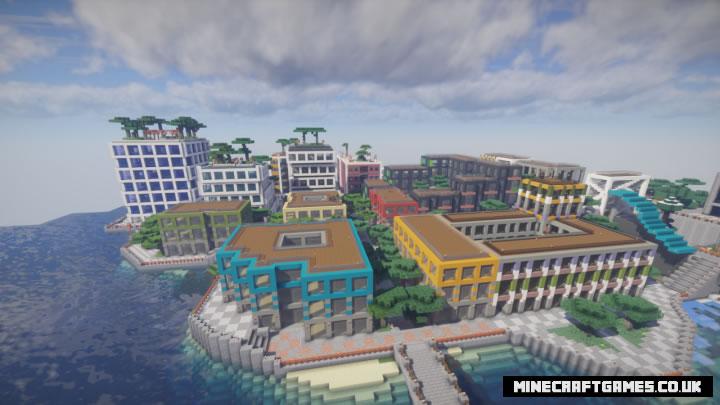 2D City Map Screenshot 5