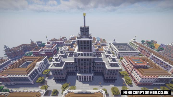2D City Map Screenshot