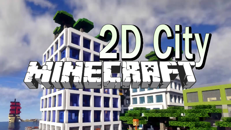 2D City Map for Minecraft