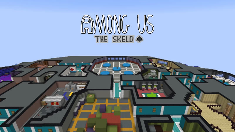 Among Us Skeld Map for Minecraft