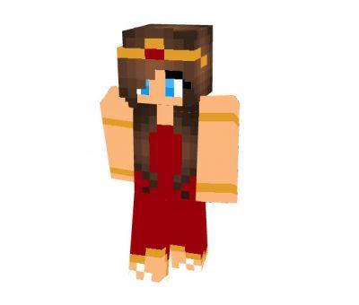 Archery Queen Skin for Minecraft Girl