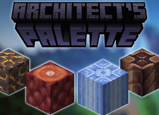 Architects Palette Mod for Minecraft