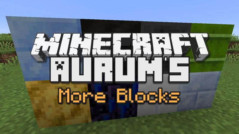 Aurum's More Blocks Mod for Minecraft