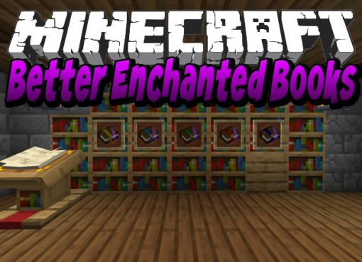 Better Enchanted Books Mod for Minecraft