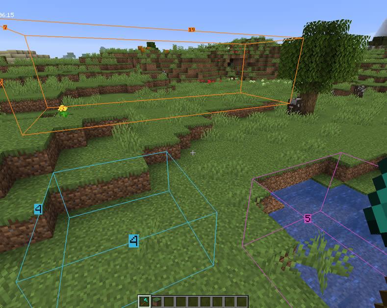 BlockMeterFabric Mod Screenshot