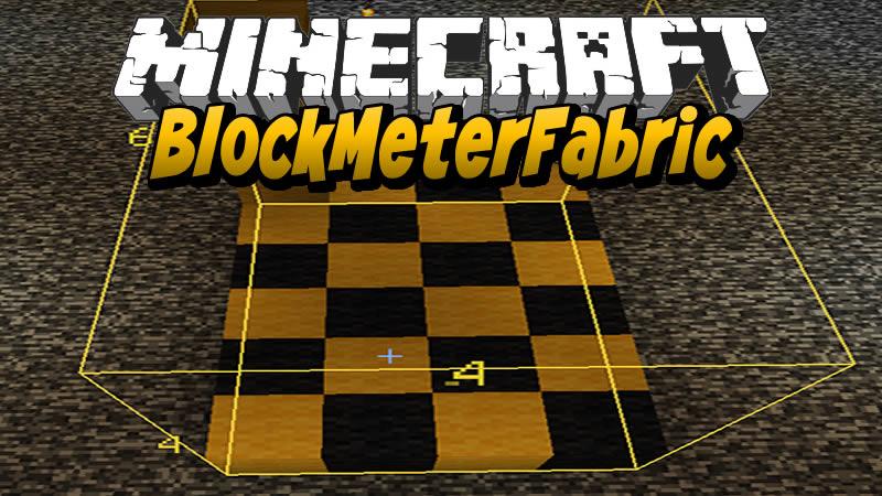 BlockMeterFabric Mod for Minecraft