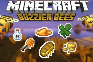 Buzzier Bees Mod for Minecraft