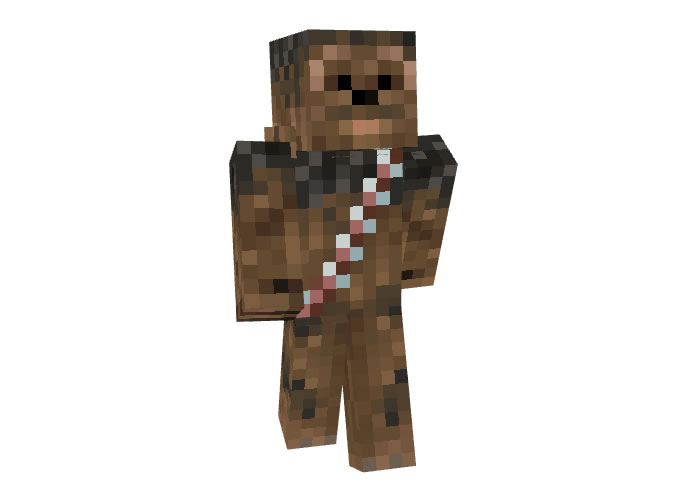 Chewbacca Skin for Minecraft