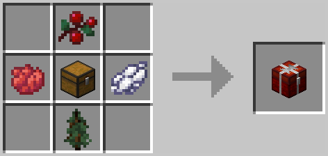 Christmas Chest Crafting Recipe