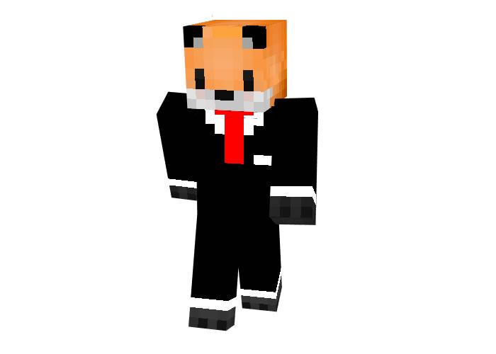 Cool Foxy Bro Skin for Minecraft