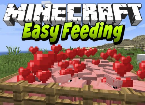 Easy Feeding Mod for Minecraft