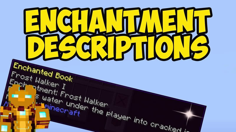 Enchantment Descriptions Mod for Minecraft