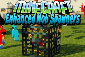 Enhanced Mob Spawners Mod for Minecraft