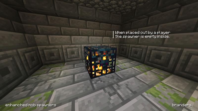Enhanced Mob Spawners Mod Screenshot